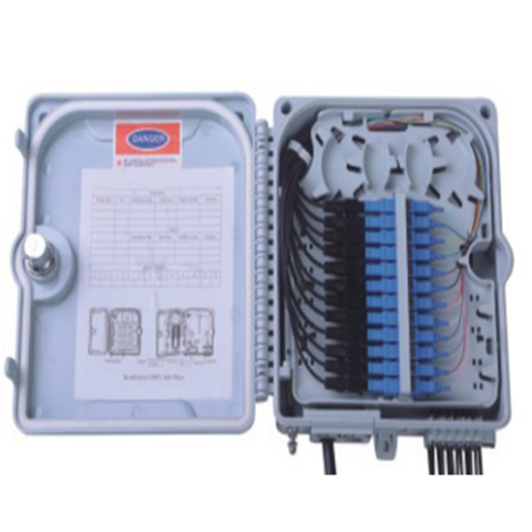 12 Core Outdoor FTTH Wall/Pole Mounted Fiber Optic Junction/Distribution Box
