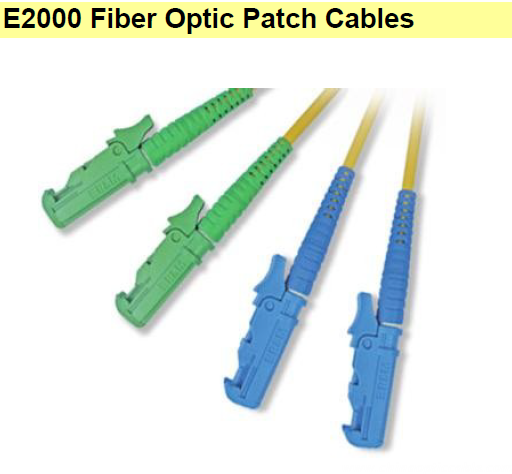 E2000 Fiber Optic Patch Cables