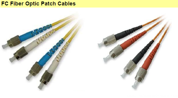 FC Fiber Optic Patch Cables