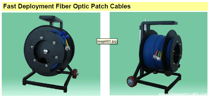 Fast Deployment Fiber Optic Patch Cables