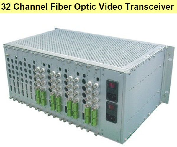 32 Channel Fiber Optic Video Transceiver