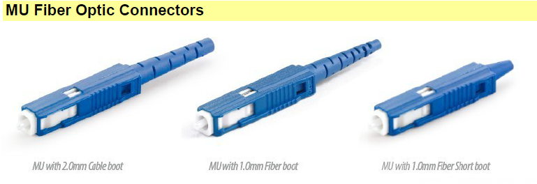 MU Fiber Optic Connectors